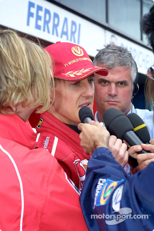 Interview avec Michael Schumacher