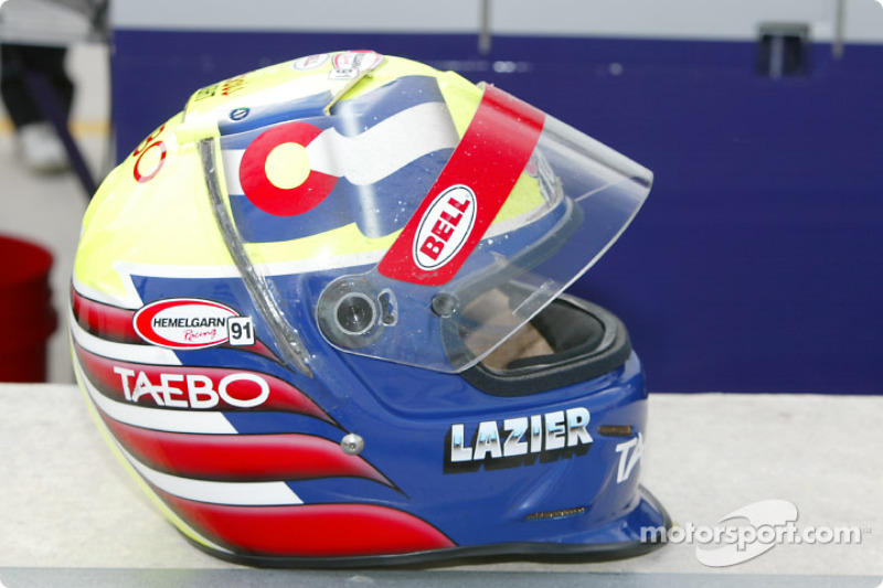 Casque de Buddy Lazier