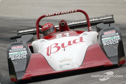Jeff Clinton pilots the #22 Nissan Lola during practice on Thursday