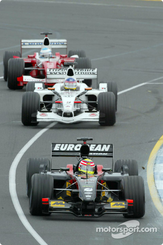 Alex Yoong, Jacques Villeneuve et Mika Salo