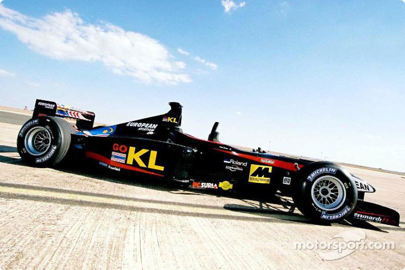 The Minardi twin seater
