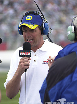 Michael Waltrip on Speed channel