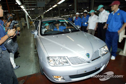 Visite de l'usine Proton à Shah Alam : Felipe Massa