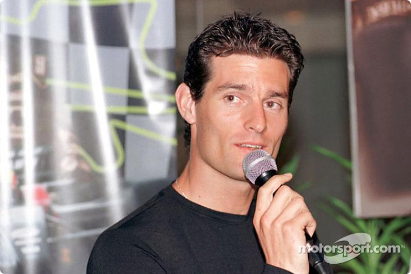 Cérémonie de sponsoring Pan Global à Kuala Lumpur : Mark Webber