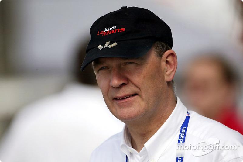 Head of Audi Sport Dr Wolfgang Ullrich