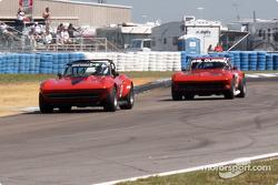 A pair of Corvette Stingray