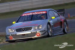 Bernd Schneider driving the Mercedes-Benz CLK-DTM 2002, entered by the Vodafone AMG-Mercedes team