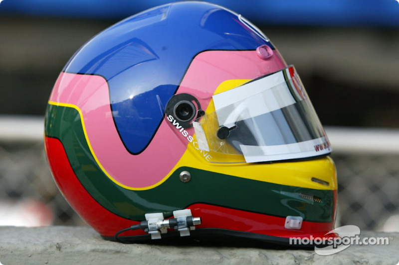 Casco de Jacques Villeneuve
