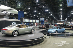 Three Buick concept cars