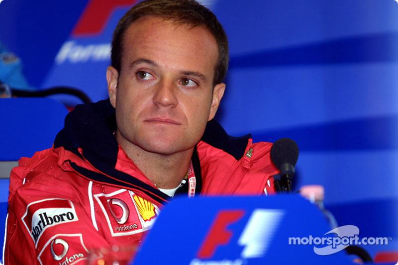 Conferencia de prensa del jueves: Rubens Barrichello