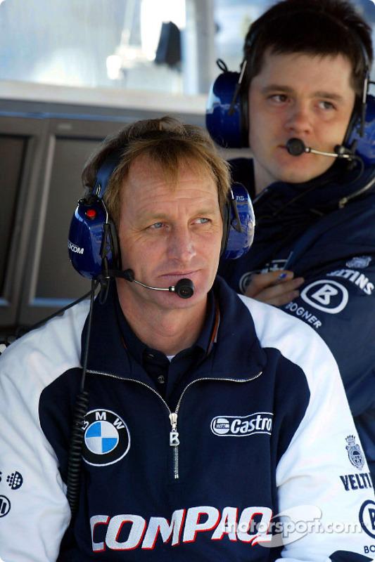 Membres de l'équipe Williams BMW