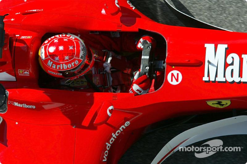 2002 San Marino GP, Ferrari F2002