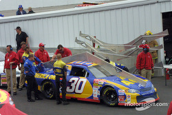 Technical inspection for the AOL Chevrolet