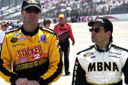 Kenny Wallace et Mike McLaughlin