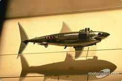 El artista británico Julian Opie junta el arte con las carreras de Fórmula 1