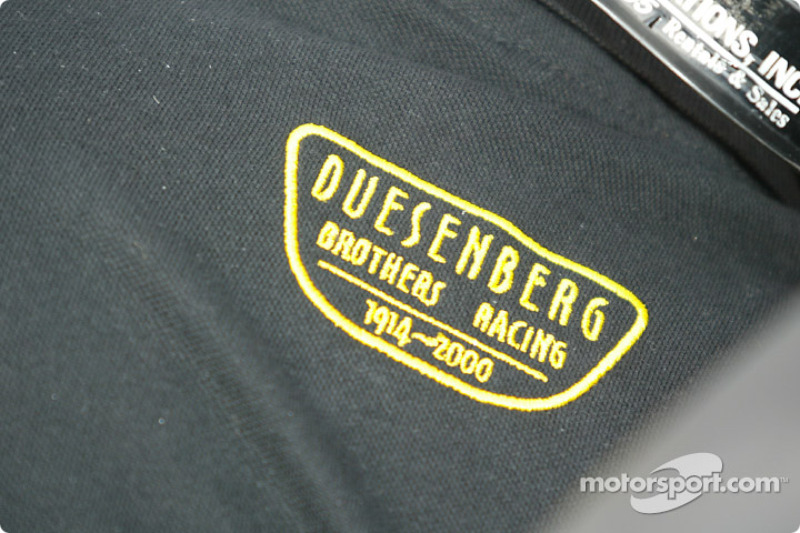 The Duesenberg Brothers Crest back at the Indianapolis Motor Speedway