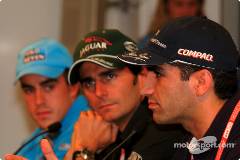 Thursday press conference: Fernando Alonso, Pedro de la Rosa and Marc Gene