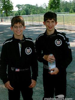 Ricky et Jordan Taylor (Team Cadillac)