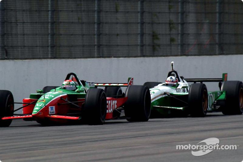 Adrian Fernandez and Dario Franchitti
