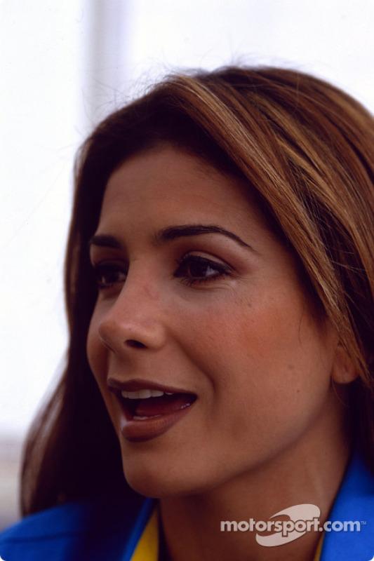 La estrella mexicana de pop, Patricia Manterola