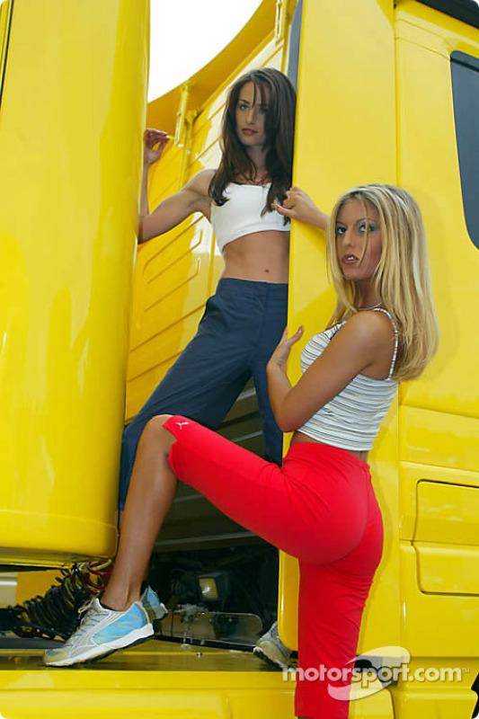 Austrian Grand Prix girls