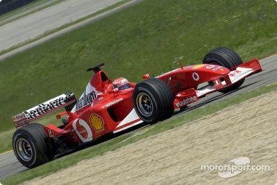 Ferrari-Testfahrten, Mai