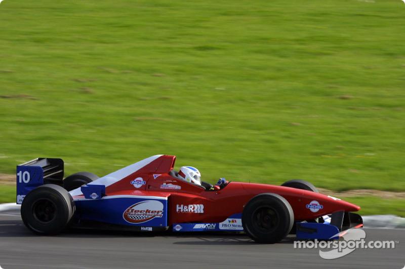 The ex-F1 Minardi of Heinz Becker