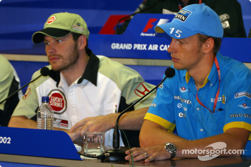 Conferencia FIA del viernes: Jacques Villeneuve y Jenson Button