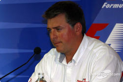 FIA Friday press conference: Honda Vice President Otmar Szafnauer