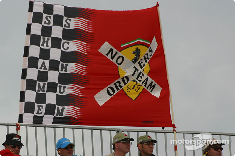 Message to Michael Schumacher and Team Ferrari