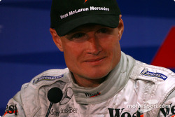 Press conference: David Coulthard