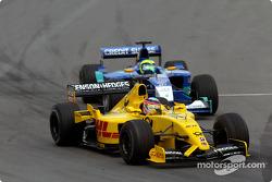 Takuma Sato et Felipe Massa