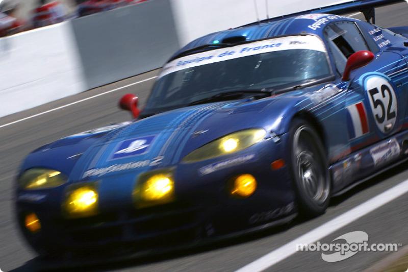 Chrysler Viper GTS-R de Equipe de France FFSA