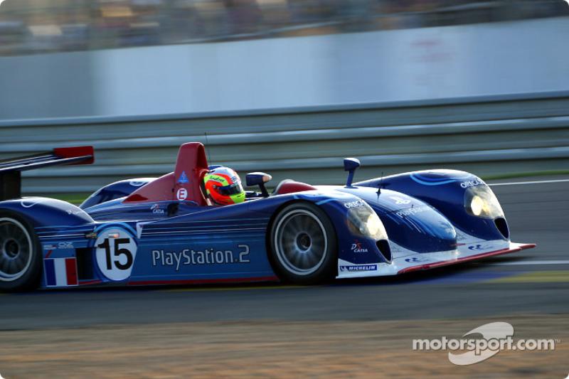 El Dallara-Judd LMP del Equipo ORECA