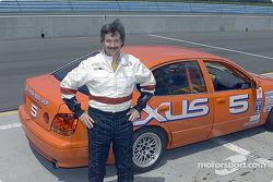 Motorsport photographer Steve Rossini