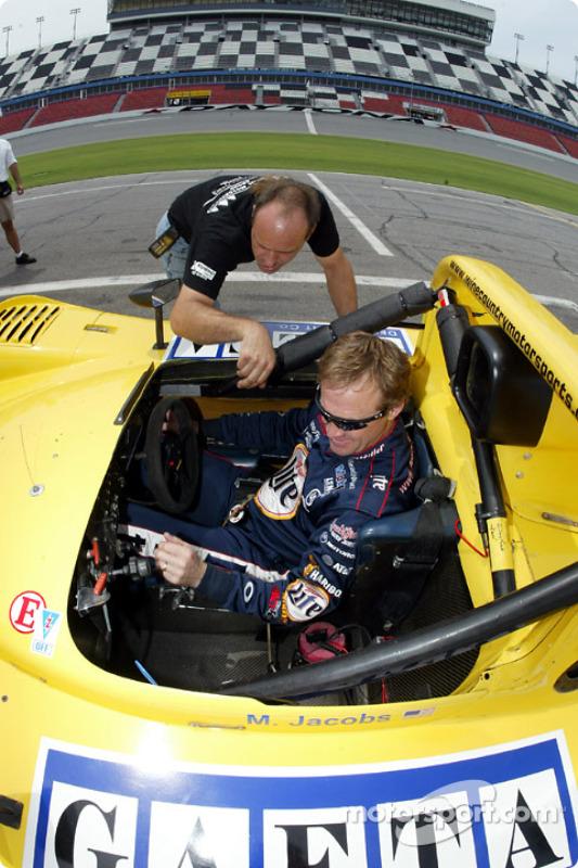 Post-race press conference avec Dale Jarrett et Ryan Newman