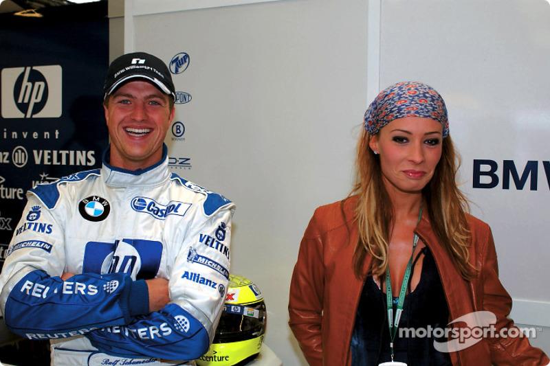 Ralf Schumacher and wife Cora