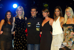 British Grand Prix Ball: a very happy Mark Webber