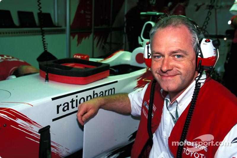 Team Toyota's Richard Cregan