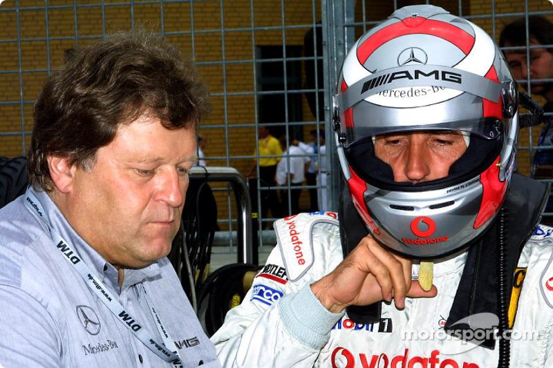 Norbert Haug y Bernd Schneider