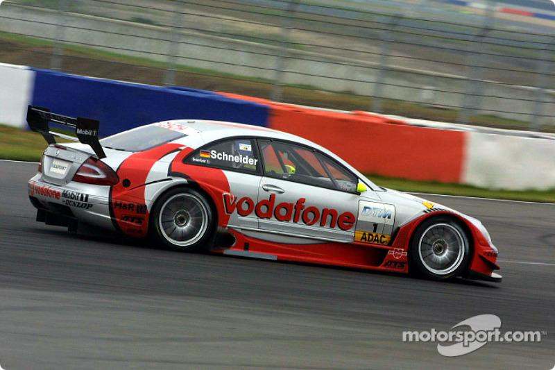 Bernd Schneider en la carrera de clasificación
