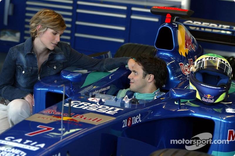 Felipe Massa en encantadora compañía