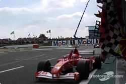 Картатий прапор для Міхаеля Шумахера, Ferrari