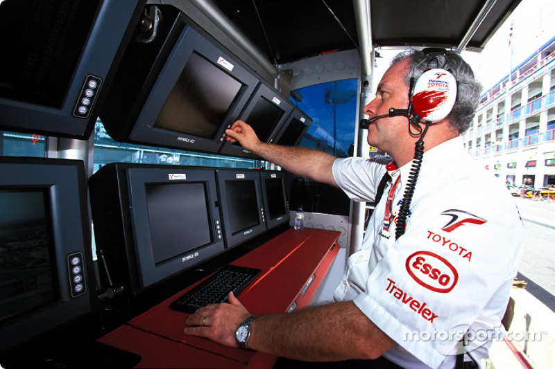 Team Toyota pitwall