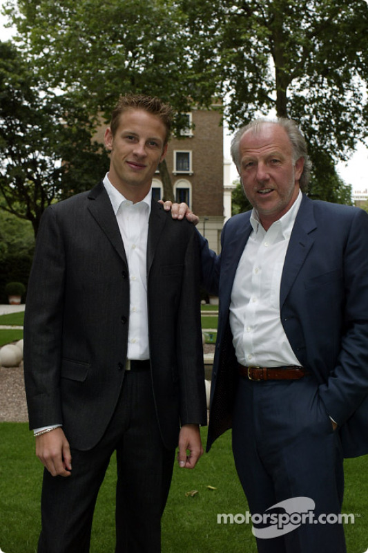 Jenson Button ve David Richards