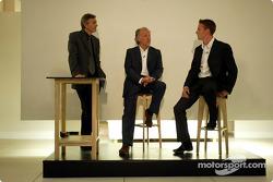 David Richards y Jenson Button