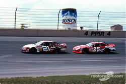 Tim Sauter and Bobby Hamilton Jr.