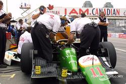 Newman-Haas crew members