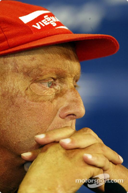 Conferencia de prensa del viernes: Niki Lauda