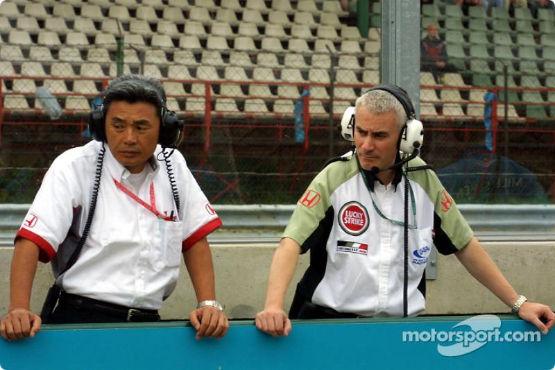 Geoff Willis and Ken Hashimoto